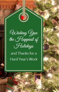 Corporate Holiday Messages to Employees