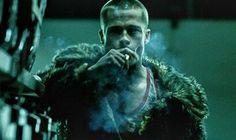 Brad Pitt as Tyler Durden. #Fight Club