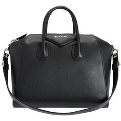 Givenchy Antigona Medium Duffel (160.780 RUB) via Polyvore featuring bags, handbags, purses, givenchy, black, black duffle bag, duffle purse, duffle handbags, duffle bag и black duffel bag