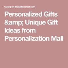 Gift giving made easy! Shop thousands of unique, personalized gifts for men, women & kids - for every occasion. Always free personalization & fast shipping. Diy Gifts, Unique Gifts, Great Gifts, Gift Websites, Personalized Gifts For Men, Food Packaging, Make It Simple, Mall, Projects To Try