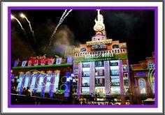 Light show Baltimore for the holidays