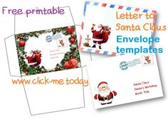 Free santa letter printablesg 612792 pxeles xmas free printable letter to santa claus envelope template craft pronofoot35fo Image collections
