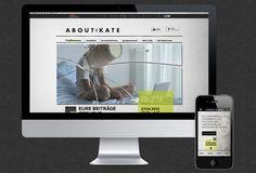 About:Kate ARTE  SECOND SCREEN APPLIKATION & WEBSITE Transmediales Storytelling  #appdesign #webdesign #storytelling #audiofingerprint