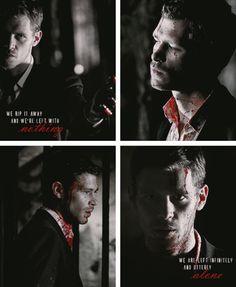 My ABSOLUTE favorite scene of all time. Vampire Diaries <3 Team Klaus <333