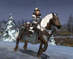 Winter wilderness + warsteed, Cosmetic Lotro
