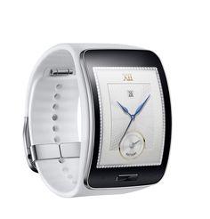 Samsung Gear-S Pure White Smartwatch de luxe