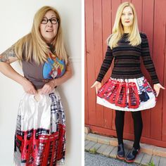 Got a skirt that is simply too tight and uncomfortable to wear? Grab my tutorial & m,ake it comfy again! How to easily upsize a skirt waistband