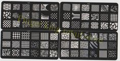 16PCS/lot Konad Design Stamp Image Plate Stamping Nail Art DIY Image Plate Template to17 32#009-in Nail Art Templates from Health & Beauty on Aliexpress.com | Alibaba Group