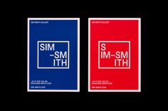 Spin – Identity for contemporary art gallery Sim Smith
