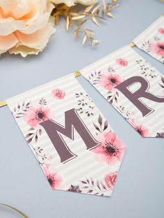Ideas Bridal Shower Printables Free Banners Diy For 2019 Free Printable Banner, Free Banner, Diy Banner, Printable Alphabet, Banner Template, Simple Bridal Shower, Bridal Shower Tables, Bridal Shower Cards, Bridal Party Games