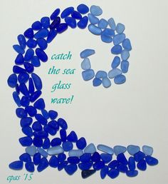Cobalt  Cornflower Blue (100+) Teeny & Tiny Jewelry Quality Genuine Sea Glass Lot (A1) - pinned by pin4etsy.com