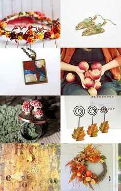 AUTUMN - gold time by Ana Ja on Etsy--Pinned with TreasuryPin.com