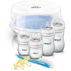 The Philips Avent SCD298/01 is an essentials set and the natural way to bottle feed and sterilize.