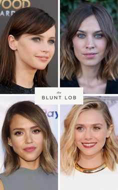 Beauty inspiration for fine hair. Long-haired girls, get your scissors ready!