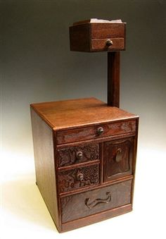 Sewing box tansu. I have this one.