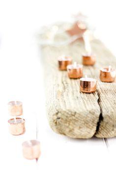 DIY Copper Candles | Das erste selbstgemachte Weihnachtsgeschenk, das ich jetzt einfach selber behalte. by http://titatoni.blogspot.de/