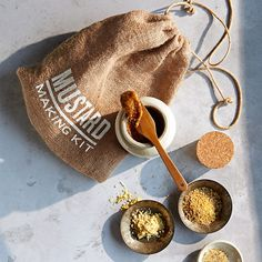 Make your own mustard! Simply add your favorite beer and cider vinegar to the dry mix. Store and serve with the accompanying ceramic crock.