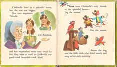 Fairy Tale Origins — Walt Disney's Cinderella, a children's book from. Cinderella Story Book, Walt Disney Cinderella, Disney Movies, Disney Characters, Diy Birthday Decorations, Hopes And Dreams, Fairy Godmother, Music Lessons, Childrens Books