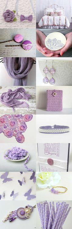 Lilac by D.K. on Etsy--Pinned with TreasuryPin.com