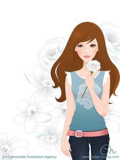 Flower Girl Cover 1 by CQcat.deviantart.com on @deviantART
