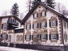 Hansel & Gretel Haus ~ Oberammergau, Bavaria. Repinned by www.mygrowingtraditions.com