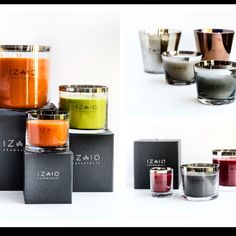 Izaio Fragrances collage.