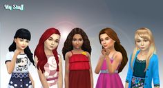 New pack available on my site. Include 5 girls long hairs I created for the Sims 4, you can have these without advertising. I accept reque...