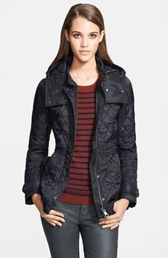 Burberry Brit 'Starkleigh' Quilted Jacket available at #Nordstrom