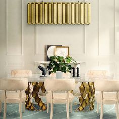Dream dining room design today || Get into in one of the finest pieces at home and follow the latest interior design trends || #homedecor #homedecoration #decoration || Explore more: http://homeinspirationideas.net/category/room-inspiration-ideas/dining-room/