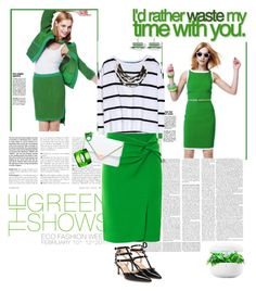 """""""Work Wear: Green"""" by ellie366 ❤ liked on Polyvore"""