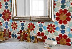 Granada Grande Jewel Glass Mosaic | New Ravenna Mosaics