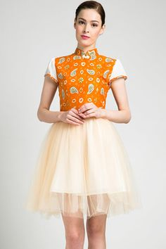 Batik tutu dress | dhievine for Berrybenka.com