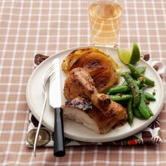 Roasted Chicken with Ginger, Chile, and Lime