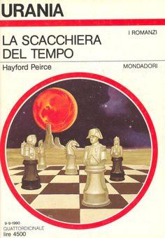 """Illustrazione di Vicente Segrelles per la copertina del n. 1135 della storica Urania: il romanzo è """"La scacchiera del tempo"""" #Chess #Scacchi #Urania"""