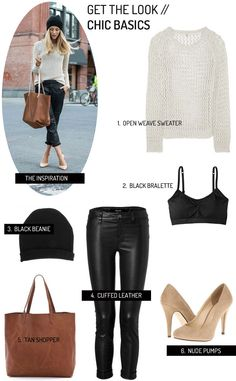 Get the Look: Chic Basics