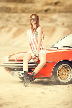This is my favorite style.    desert, fashion, girl, car, portrait, hair, legs