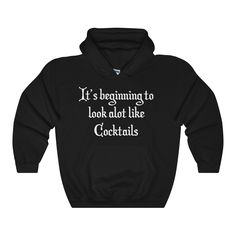 Holiday Heavy Blend Unisex Hooded Sweatshirt cocktails 6+ colors...