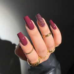 Acrylic Nails Coffin Short, Simple Acrylic Nails, Pink Acrylic Nails, Cute Acrylic Nail Designs, Nail Art Designs, Best Nail Designs, Long Nail Designs, Gorgeous Nails, Pretty Nails
