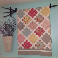 Over my Fireplace - by Susan Ache        I love the way they hung it on an vintage yard tool. - Lora