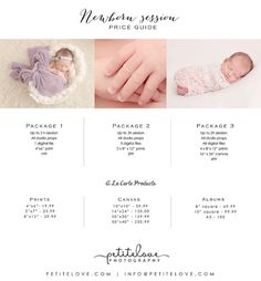 Newborn Session Price Guide by TinyDreamsProps on Etsy Photography Tools, Price Guide, Newborn Session, Handmade Gifts, Prints, Baby, Kid Craft Gifts, Craft Gifts, Baby Humor