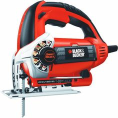 Black & Decker Smart Select Technology automatically sets the jigsaw to optimize any cutting application.  Only $43.89 this #FathersDay