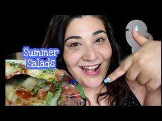 4 ΚΑΛΟΚΑΙΡΙΝΕΣ Σαλατες για ΒΡΑΔΥΝΟ και όχι μονο..|Βella Mary - YouTube Summer Salads, Youtube, Youtubers