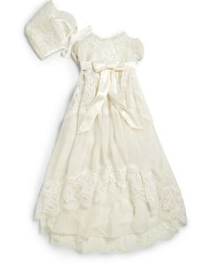 5cf25b7ae85 Dolce   Gabbana - Infant s Lace Baptism Dress - Saks Fifth Avenue Mobile