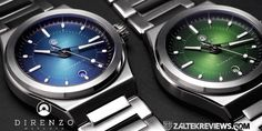Direnzo DRZ04 Mondial 1 Boeing 707, Crystal Crown, Jet Plane, 316l Stainless Steel, Oclock, How Are You Feeling