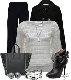 """""""STYLE THIS Phillip Lim Pashli Large Tote"""" by cindycook10 on Polyvore"""