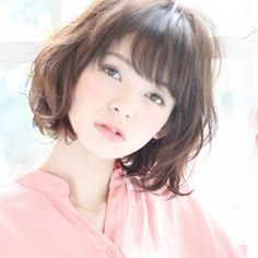 Latest Short Hairstyles with Bangs for 2017 Cute Bob Hairstyles, Latest Short Hairstyles, Haircuts For Fine Hair, Hairstyles With Bangs, Short Hair With Bangs, Girl Short Hair, Short Curly Hair, Medium Hair Styles, Curly Hair Styles