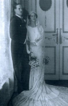 Princess Cecile of Greece (1911-1937) and Grand Duke Georg Donatus of Hesse and…