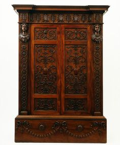 1764-1767 British Cupboard at the Victoria and Albert Museum, London