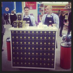 """Chanel Supermarket / Chanel Shopping Center / Supermarche. Paris Fashion Week 2014. Grand Palais. """"Anyone for Chanel coffee ?"""""""