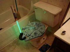 Star wars Toilet